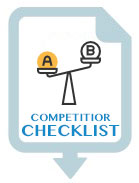 Chilled Van Competitor Checklist