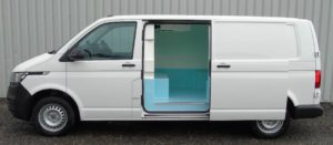 Volkswagen Transporter Zanotti Fridge Conversion Side View